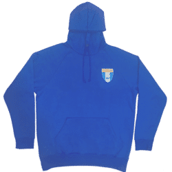 Royal Blue Fleece Hoodie